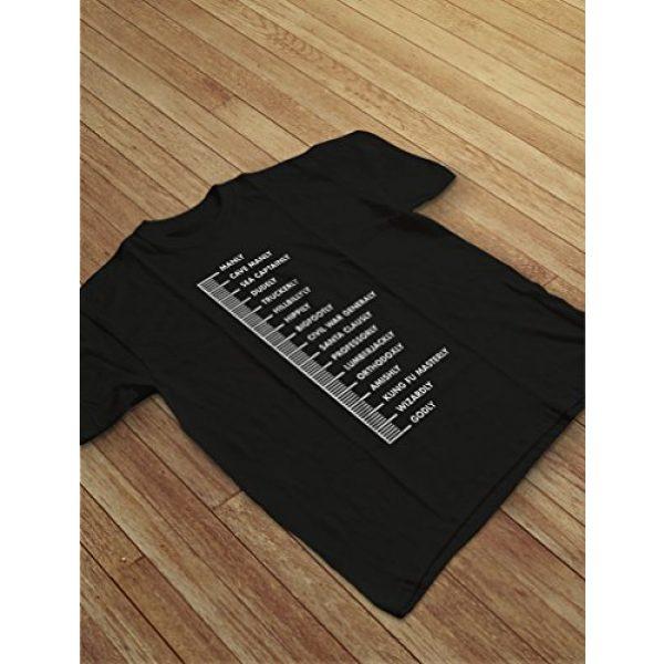 Tstars Graphic Tshirt 3 Gift for Bearded Men Beard Scale Men's T-Shirt