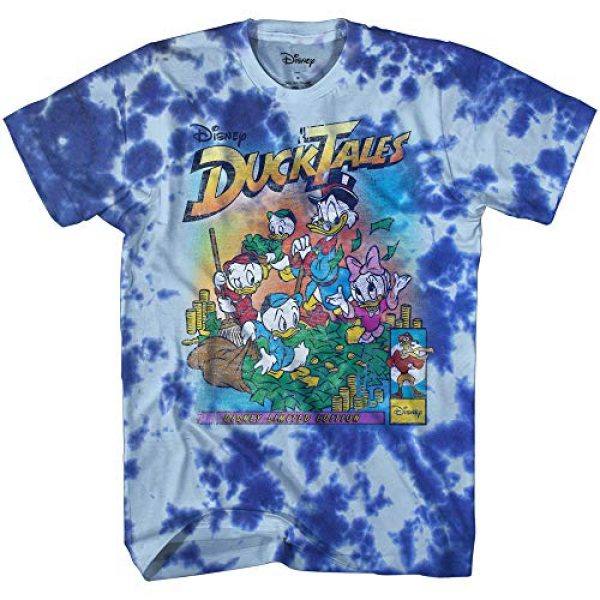 Disney Graphic Tshirt 1 Ducktales Limited Edition Scrooge McDuck Duck Tales Vintage Classic Funny Logo Adult Tee Graphic T-Shirt for Men Tshirt