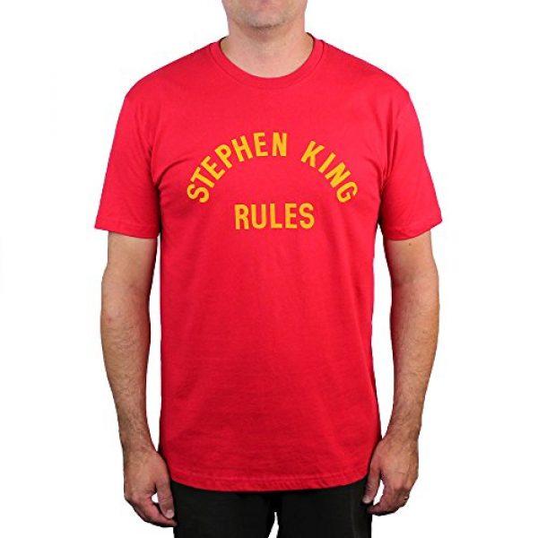 Cult Classic Shirts Graphic Tshirt 1 Stephen King Rules T-Shirt