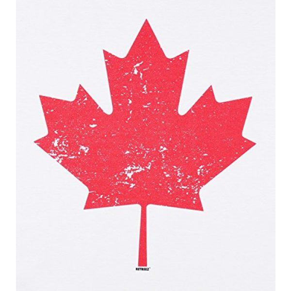 Retreez Graphic Tshirt 5 Vintage Canada Canadian The Maple Leaf Flag Graphic Printed T-Shirt Tee