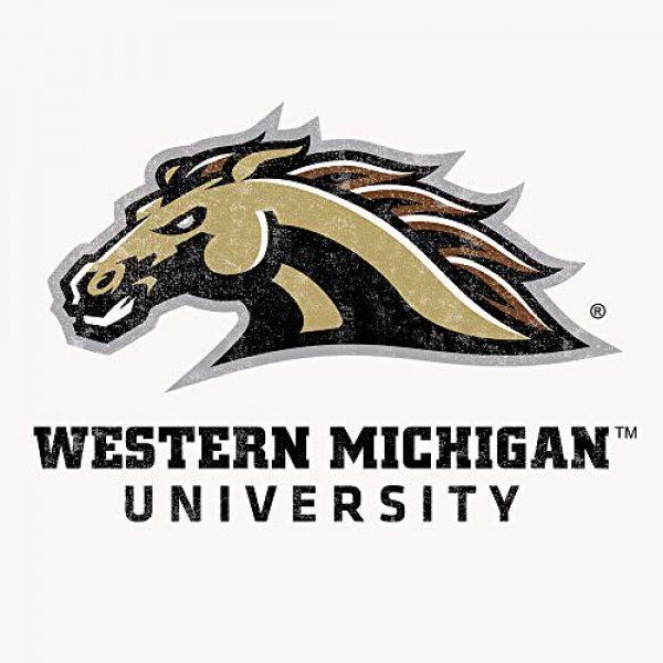 Tee Luv Graphic Tshirt 2 Western Michigan University Broncos T-Shirt - WMU College Shirt