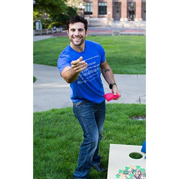 Ann Arbor T-shirt Co. Graphic Tshirt 5 Blue Screen of Death   Geeky Windows Error, Funny Computer Nerd Unisex T-Shirt