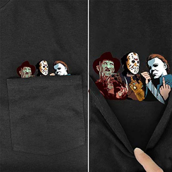 YX GIRL Graphic Tshirt 3 Pocket t-Shirt Summer Cotton t Shirts Men/Women Printed Novelty tees