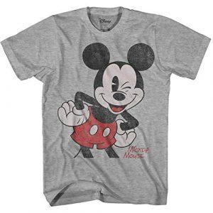 Disney Graphic Tshirt 1 Mickey Mouse Adult Men's Classic Vintage Disneyland World Adult Tee Graphic T-Shirt for Men Tshirt