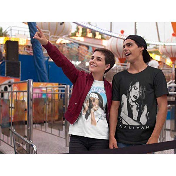 Ripple Junction Graphic Tshirt 4 Aaliyah Adult Airbrush Bandana Photo Heavy Weight 100% Cotton Crew T-Shirt