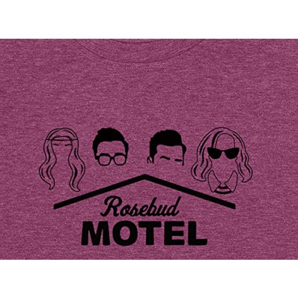 DLSWTGSY Graphic Tshirt 3 Womens Rosebud Motel T-Shirts Short Sleeve Graphic Printed Tshirt Funny Tee Tops Round Neck Women Clothes