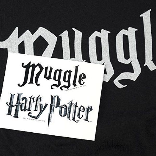 Popfunk Graphic Tshirt 6 Harry Potter Black Muggle T Shirt & Stickers