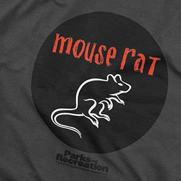 Popfunk Graphic Tshirt 5 Parks & Rec Mouse Rat Pawnee Band T Shirt & Stickers