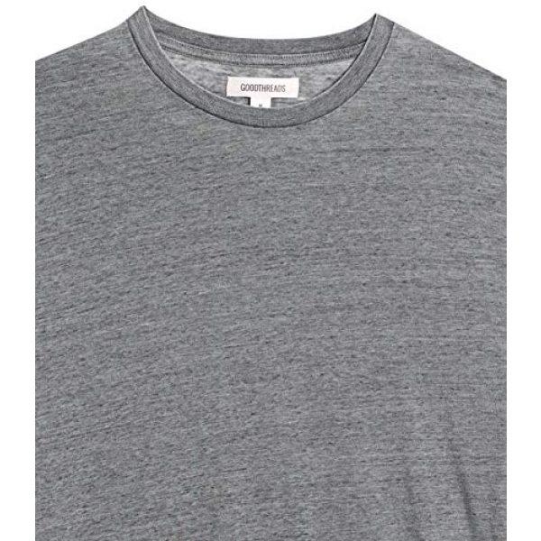 Goodthreads Graphic Tshirt 5 Amazon Brand - Goodthreads Men's Lightweight Burnout Long-Sleeve Crewneck T-Shirt