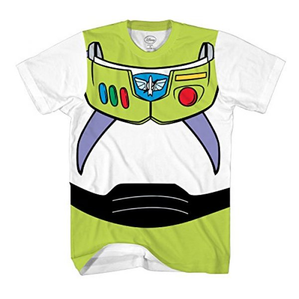 Disney Graphic Tshirt 1 Toy Story Buzz Lightyear Astronaut Costume Adult T-Shirt