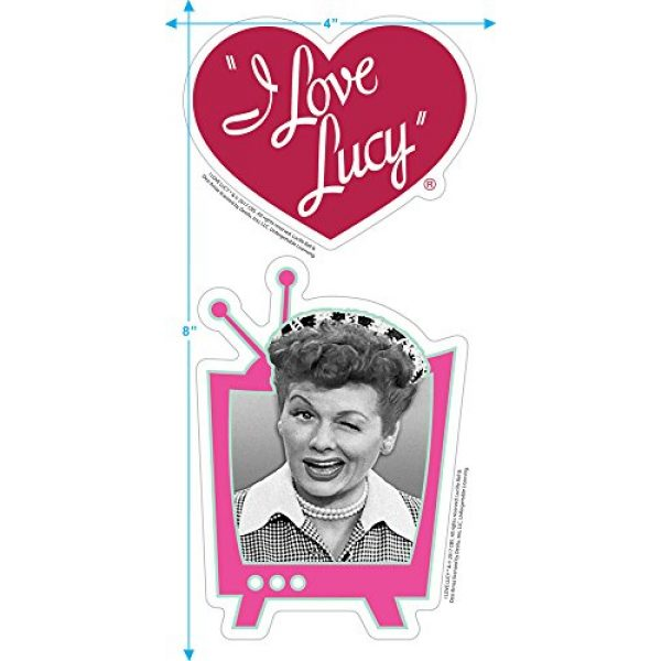 Popfunk Graphic Tshirt 3 I Love Lucy 65th Anniversary Collage T Shirt & Stickers