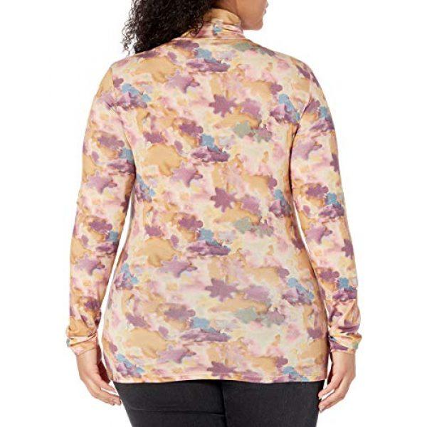 Graphic Tshirt 5 Women's Phoebe Long Sleeve Turtleneck Second Skin T-shirt
