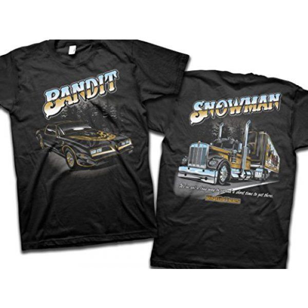 Bigrigtees Graphic Tshirt 1 Big Rig Tees 'Snowman' T-Shirt (XX-Large)