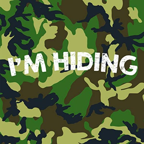 Crazy Dog T-Shirts Graphic Tshirt 2 Mens Im Hiding Camo T Shirt Funny Sarcastic Military Hunting Novelty Dad Joke