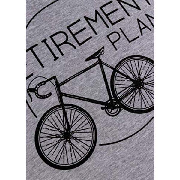 Ann Arbor T-shirt Co. Graphic Tshirt 5 My Retirement Plan (Bicycle)   Funny Bike Riding Rider Retired Cyclist Man T-Shirt