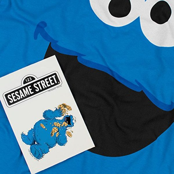 Popfunk Graphic Tshirt 5 Sesame Street Cookie Monster T Shirt & Stickers
