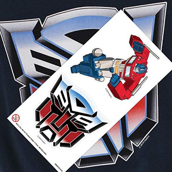 Popfunk Graphic Tshirt 6 Transformers Autobot Airbrush Logo T Shirt & Stickers