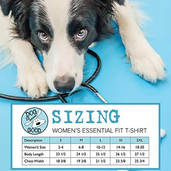 Dog is Good Graphic Tshirt 3 Short Sleeve T-Shirt Welcome Diversity - Great Gift for Dog Lovers, Made with High Premium Materials, Women's Fit