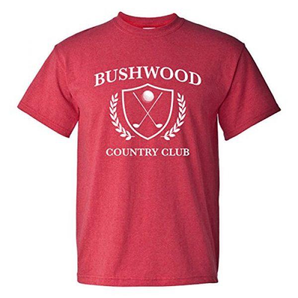 UGP Campus Apparel Graphic Tshirt 1 Bushwood Country Club - Funny Golf Golfing T Shirt