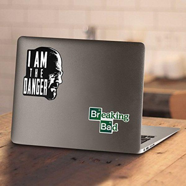 Popfunk Graphic Tshirt 4 Breaking Bad The Danger T Shirt & Stickers (Medium)