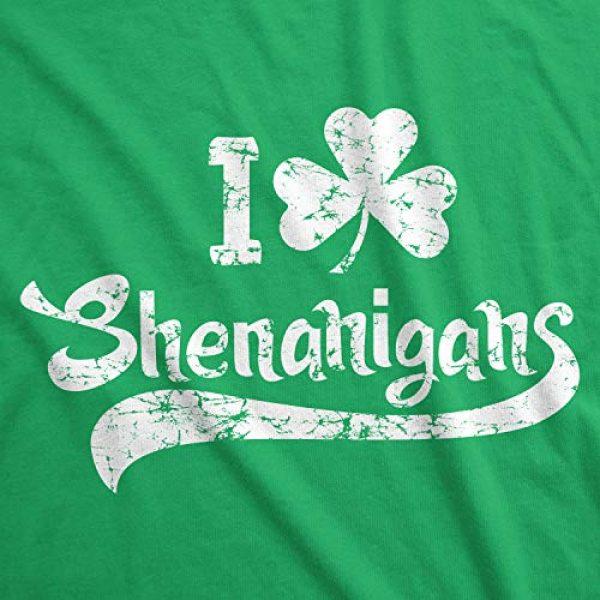 Crazy Dog T-Shirts Graphic Tshirt 2 Mens I Clover Shenanigans T Shirt Funny Irish Clover St Saint Patricks Day Tee
