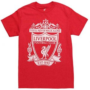 Fifth Sun Graphic Tshirt 1 Liverpool FC 1892 Crest Adult T-Shirt