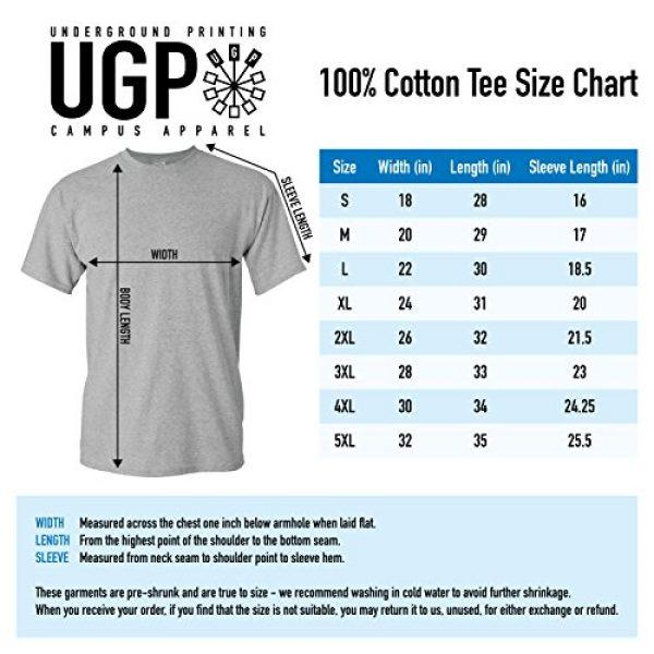 UGP Campus Apparel Graphic Tshirt 7 NCAA Arch Logo, Team Color T Shirt, College, University