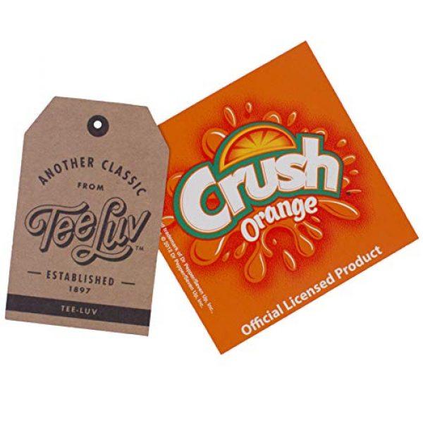 Tee Luv Graphic Tshirt 4 Orange Crush T-Shirt - Vintage Crush Soda Logo Graphic Tee Shirt