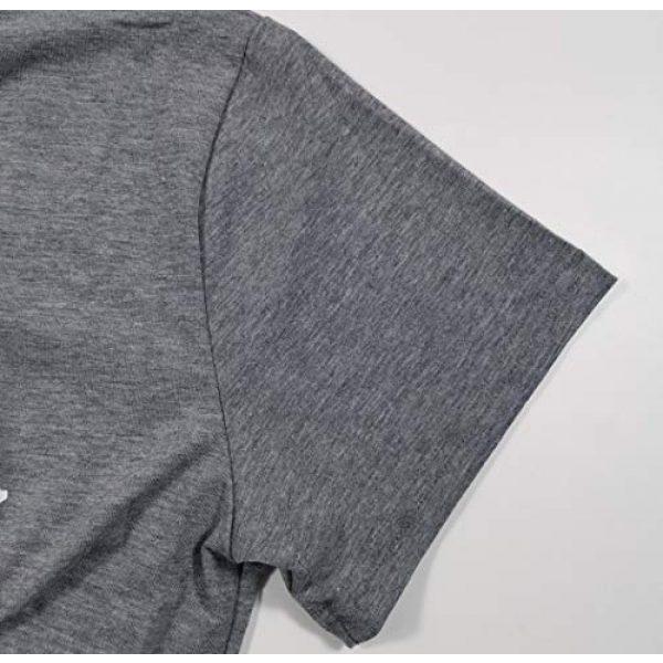 DUDUVIE Graphic Tshirt 3 Women Let's Do This Boy Baseball Mom Tshirt Casual Letter Print Tops Tee