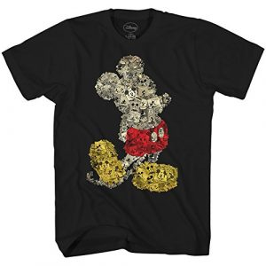 Disney Graphic Tshirt 1 Mickey Mouse Collage Disneyland World Adult Tee Graphic T-Shirt for Men Tshirt
