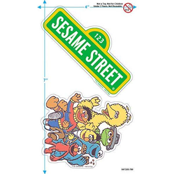 Popfunk Graphic Tshirt 3 Sesame Street Group T Shirt & Stickers