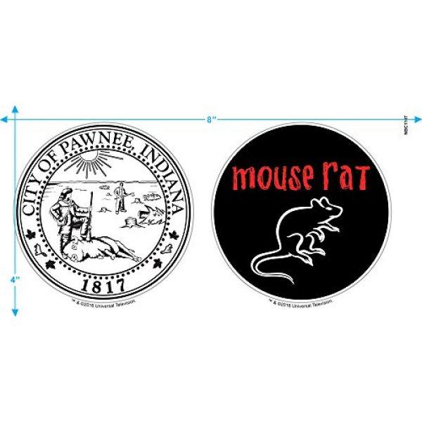 Popfunk Graphic Tshirt 3 Parks & Rec Mouse Rat Pawnee Band T Shirt & Stickers