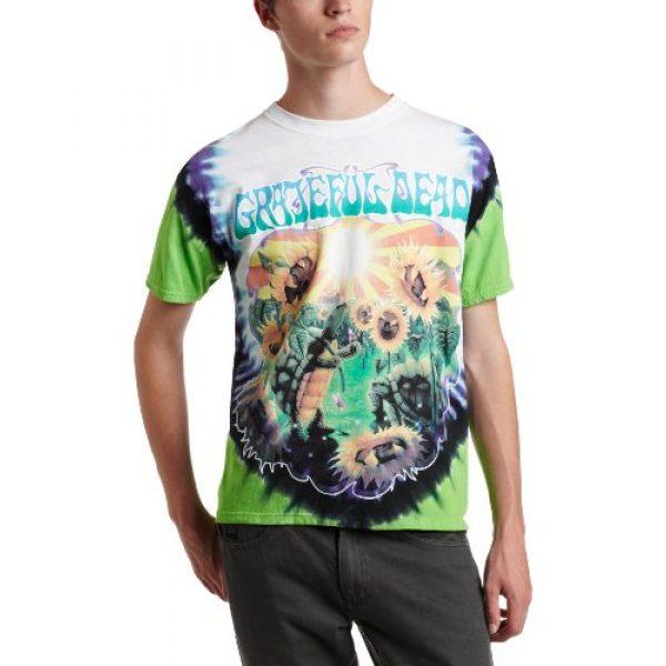 Liquid Blue Graphic Tshirt 1 Men's Grateful Dead Sunflower Terrapin Tie Dye T-Shirt