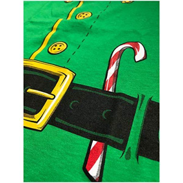 Ann Arbor T-shirt Co. Graphic Tshirt 5 Santa's Elf Costume | Jumbo Print Novelty Christmas Holiday Humor Youth T-Shirt