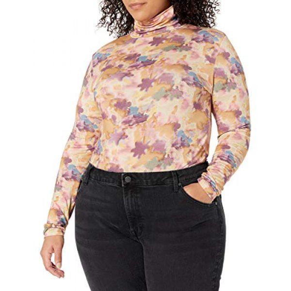 Graphic Tshirt 4 Women's Phoebe Long Sleeve Turtleneck Second Skin T-shirt