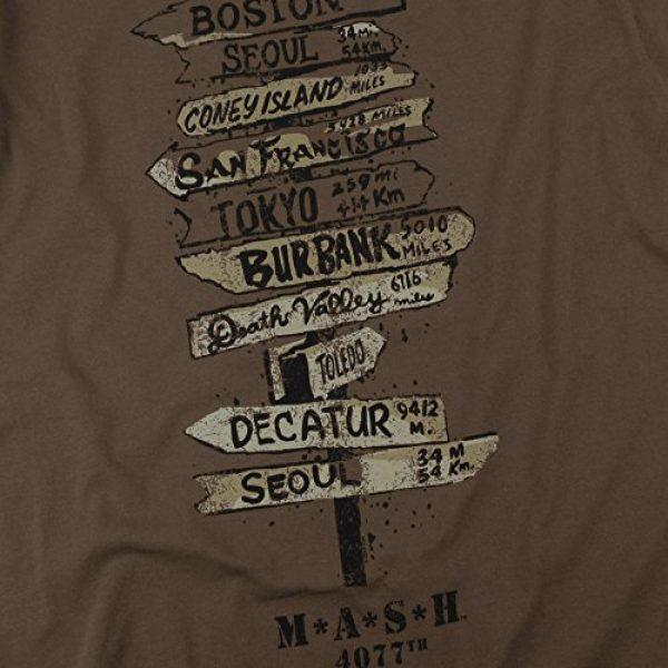 Popfunk Graphic Tshirt 5 MASH Fingerpost T Shirt & Stickers