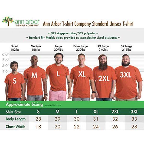 Ann Arbor T-shirt Co. Graphic Tshirt 6 Oh for Fox Sake | Funny Saying Quote Humor Joke Pun Phrase for Men Women T-Shirt