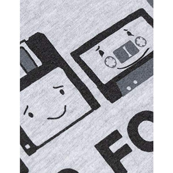 Ann Arbor T-shirt Co. Graphic Tshirt 5 Never Forget | Funny Nerd Humor Nostalgia Old 1990s 90s 1980s 80s Joke Fun T-Shirt