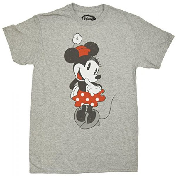 Disney Graphic Tshirt 2 Shy Minnie Mouse Graphic Tee Classic Vintage Disneyland World Adult Tee Graphic T-Shirt for Men Tshirt Clothes Apparel