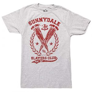 Ripple Junction Graphic Tshirt 1 Buffy The Vampire Slayer Sunnydale Slayers Club Adult T-Shirt