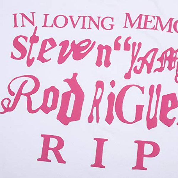 NAGRI Graphic Tshirt 4 ASAP CPFM Pharrell Short Sleeve T-Shirt in Loving Memory Hip Hop Letter Printing Graphic Rap Music Crew Neck Tee