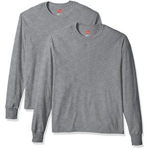 Hanes Graphic Tshirt 1 Men's 2 Pk X-Temp Long Sleeve Tee