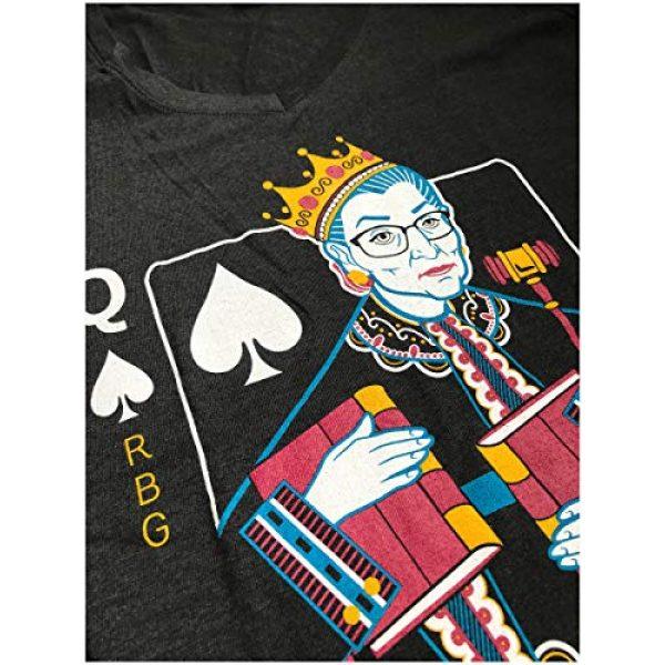 Ann Arbor T-shirt Co. Graphic Tshirt 4 Queen R.B.G. Funny Progressive Liberal Ruth Bader Ginsburg Unisex RBG T-Shirt