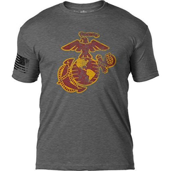 7.62 Design Graphic Tshirt 1 USMC Eagle Globe & Anchor 'Distressed' Men's T Shirt
