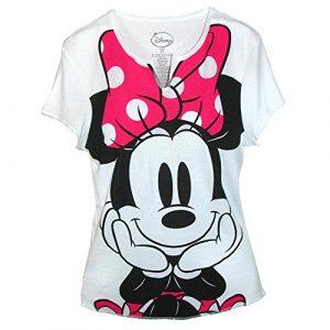 Disney Graphic Tshirt 1 Women's Minnie Mouse Tee Shirt Top