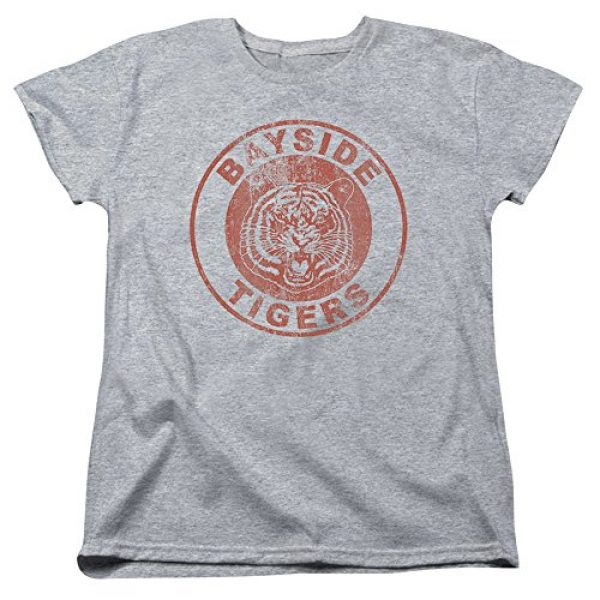 Popfunk Graphic Tshirt 1 Saved by The Bell Bayside Tigers Women's T Shirt & Stickers