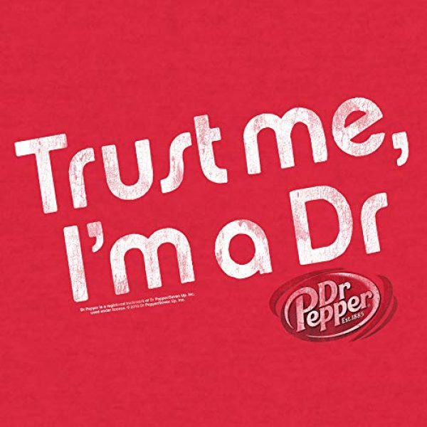 Tee Luv Graphic Tshirt 2 Dr Pepper Shirt Trust Me I'm A Dr - Retro Dr Pepper Graphic Tee Shirt