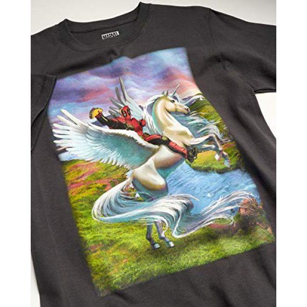 Marvel Graphic Tshirt 3 Comics Men's 2 Pack Avengers & Deadpool T-Shirts - Cotton Short Sleeve Superhero Graphic Tee