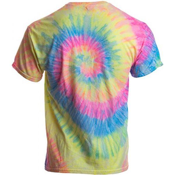 Ann Arbor T-shirt Co. Graphic Tshirt 2 Humans aren't Real | Funny Festival Hippy Rave Drug Tie Dye for Men or Women T-Shirt