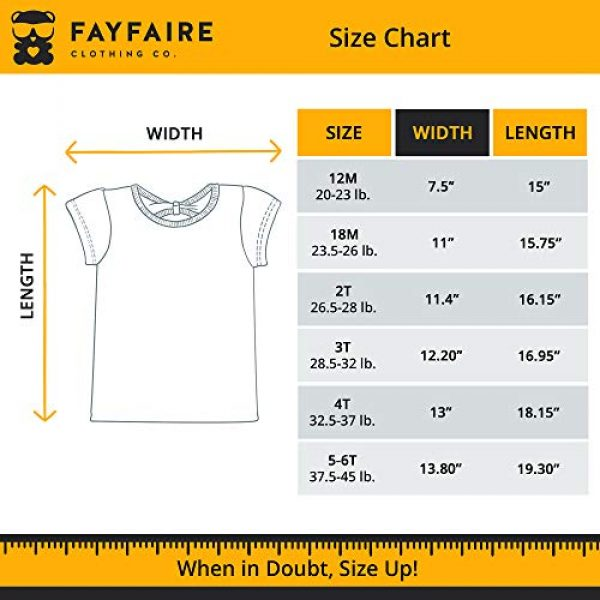 Fayfaire Graphic Tshirt 6 4th Birthday Shirt Outfit: Boutique Quality Fourth Bday Im This Many 4T